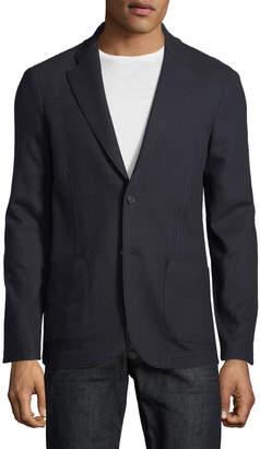 Loro Piana Sweater-Knit Jersey Blazer