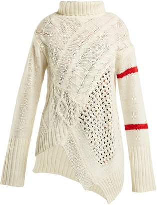 Preen Line Serenity cable-knit sweater