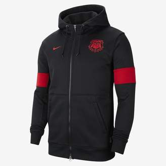 Nike Men's Full-Zip Hoodie College Therma (Georgia)