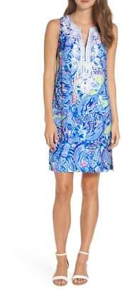 Lilly Pulitzer R) Carlotta Stretch Shift Dress