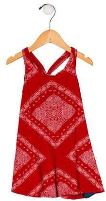 Ralph Lauren Girls' Sleeveless Printed Top