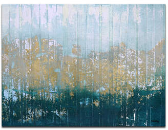"Ready2HangArt 'Harbor' Abstract Canvas Wall Art, 20x30"""