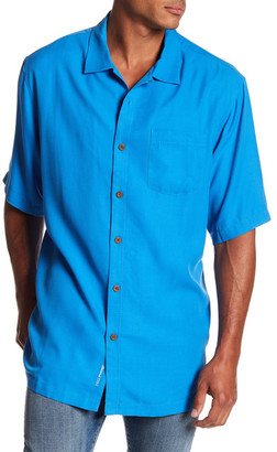 Tommy Bahama Belize Short Sleeve Original Fit Shirt (Big & Tall) $128 thestylecure.com
