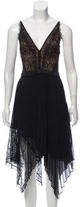 Jonathan Simkhai Lace-Accented Midi Dress w/ Tags