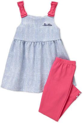 ef4fc1695b275 Nautica Infant Girls) Two-Piece Striped Tunic & Leggings Set
