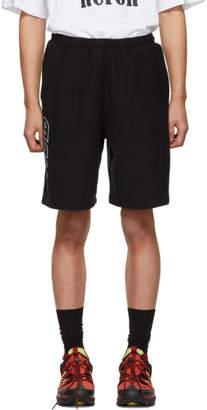 Heron Preston Black Style Sweat Shorts