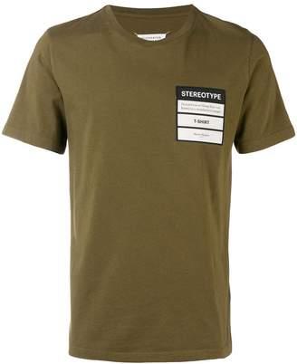 Maison Margiela Stereotype patch T-shirt