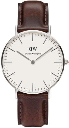 Daniel Wellington Classic Bristol 36mm Silver Watch