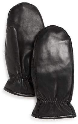 Fownes Leather Mittens
