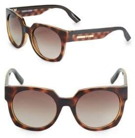 McQ 53MM Round Sunglasses