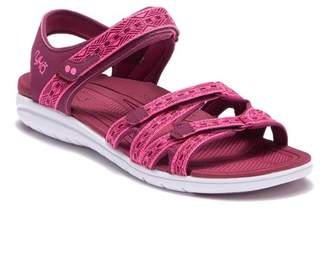 Ryka Savannah Strappy Sandal (Women) - Wide Width Available