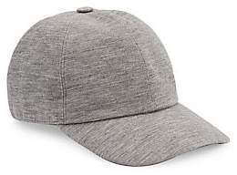 Ermenegildo Zegna Men's Wool Baseball Cap