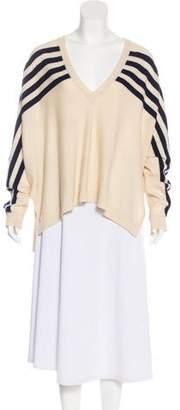 Brochu Walker Wool Cashmere-Blend Knit Sweater