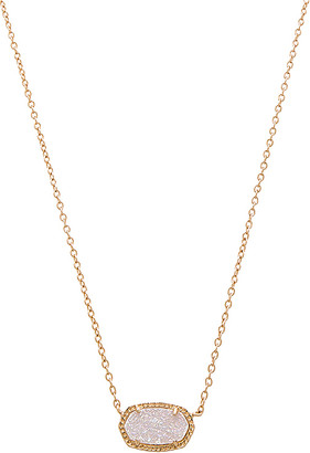 Kendra Scott Elisa Necklace in Metallic Gold. $65 thestylecure.com