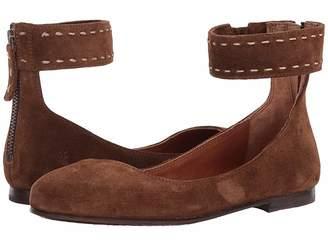Frye Carson Ankle Ballet Women's Flat Shoes