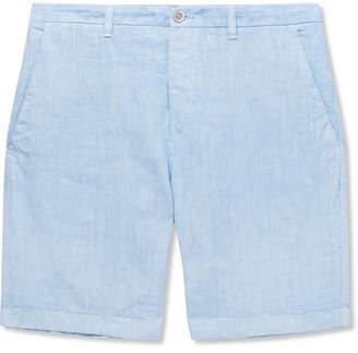 120% Slim-Fit Linen Shorts