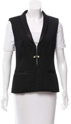 Chanel Wool Glitter Vest
