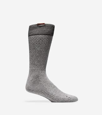 Cole Haan Grand.ØS Popcorn Stitch Crew Socks