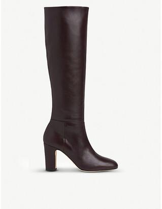 LK Bennett Kristen knee-high leather boots