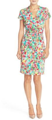 Women's Ellen Tracy Print Jersey Sheath Dress $108 thestylecure.com