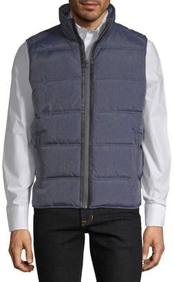 Claiborne Woven Midweight Puffer Jacket