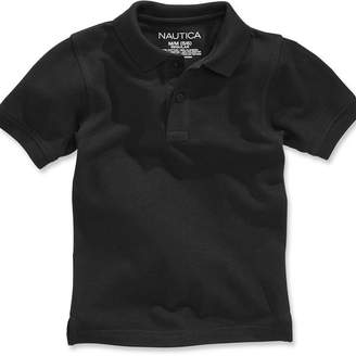Nautica (ノーティカ) - Nautica Big Boys & Husky Boys Short-Sleeve Uniform Polo