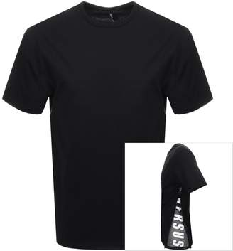 Versace Zip T Shirt Black