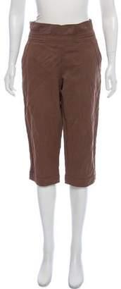 Marni Tie-Accented Capri Pants