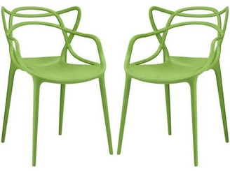 Modway Entangled Dining Armchairs, Set of 2, Multiple Colors