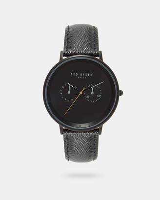 Ted Baker BRADB Textured strap watch