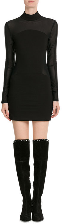 Marc By Marc JacobsMarc by Marc Jacobs Lula Studded Suede Over-the-Knee Boots