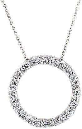 LeVian Suzy Diamonds Suzy 14K 1.00 Ct. Tw. Diamond Circle Necklace