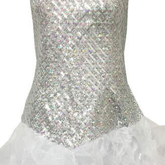 Asstd National Brand Lace Up Back Ball Gown - Juniors