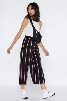 Nasty Gal Pay the Line Cropped Pants