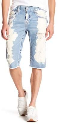 True Religion Straight Flap Cutoff Shorts