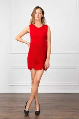 J.ING Scarlet Red Knitted Dress