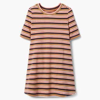 Ribbed Stripe Dress