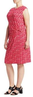 Nic+Zoe Plus Two to Tango Ruched Dress