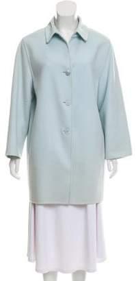 Agnona Button-Up Short Coat
