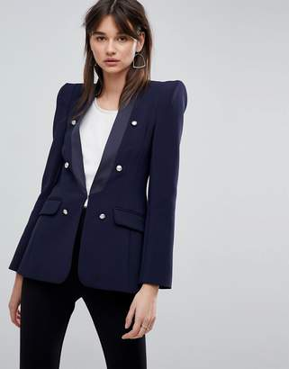 Asos Premium Tailored Blazer with Military Buttons