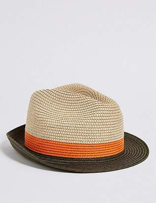 Marks and Spencer Kids' Trilby Summer Hat (3 - 14 Years)