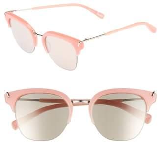 Elizabeth and James Burke 52mm Horn Rimmed Sunglasses