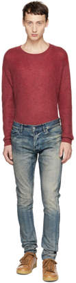 John Elliott Blue Archive Rust The Cast 2 Jeans