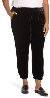 Eileen Fisher Velvet Ankle Pants