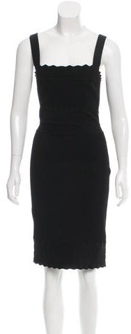 Christian Dior Sleeveless Knit Dress