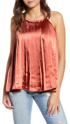 Endless Rose Pleated Tank Top