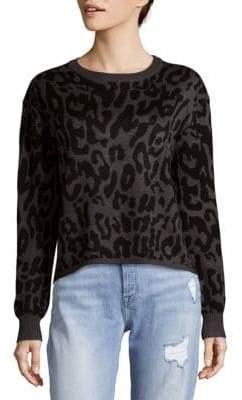 John & Jenn Leopard Sweatshirt