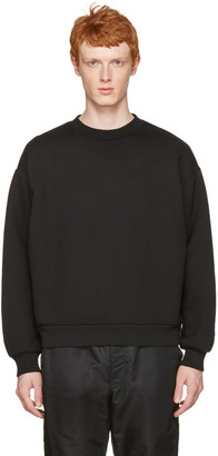 T by Alexander Wang Black Oversized Pullover $295 thestylecure.com