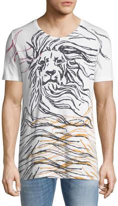 Antony Morato Men's Lion-Graphic T-Shirt