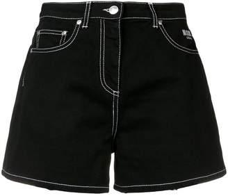 MSGM short denim shorts